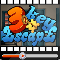 3 key Escape Walkthrough